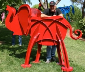 Prescott Sculpture Elephant