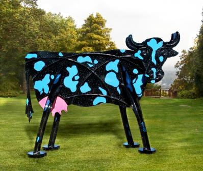 Blue Spot Cow