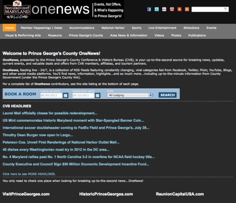 One News Website